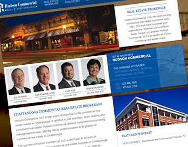 New Hudson Commercial Website